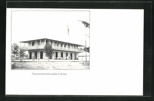 AK Boma, Factorerie Hollandaise, Fabrik