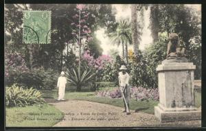 AK Conakry, Entrance of the public garden