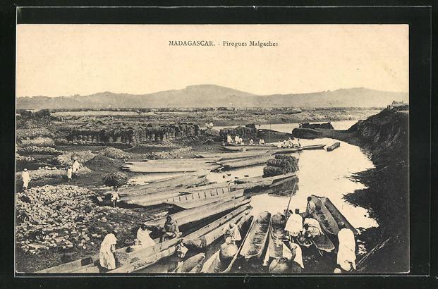 AK Madagascar, Pirogues Malgaches