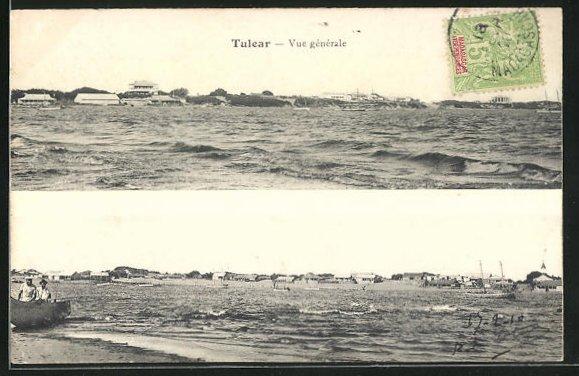 AK Tulear, Ortsansicht vom Wasser her