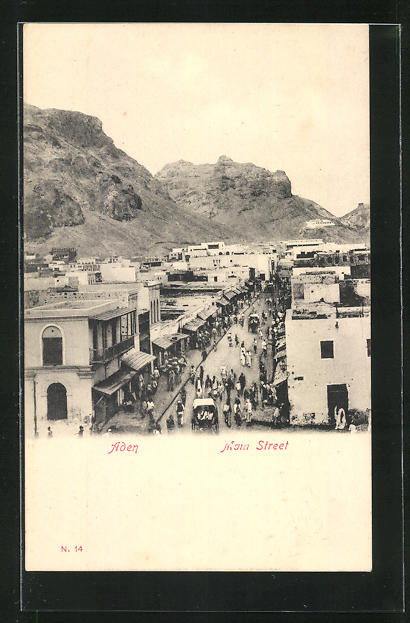 AK Aden, View of Main Street