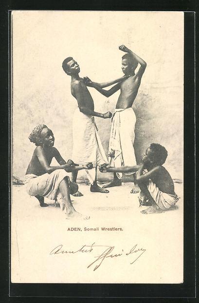 AK Aden, Somali Wrestlers