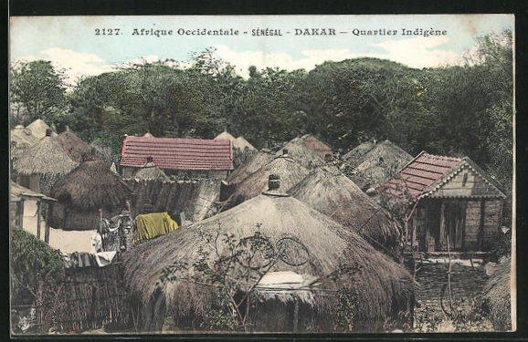 AK Dakar, Quartier Indigène