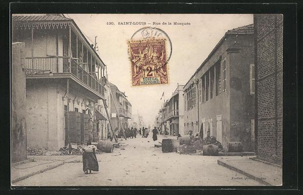 AK Saint-Louis, Rue de la Mosquée