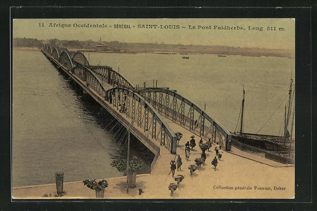 AK Saint-Louis, Le Pont Faidherbe