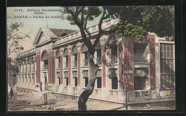 AK Dakar, Palais de Justice / Justiz-Palast