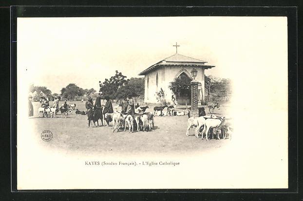 AK Kayes, L`Eglise Catholique