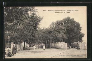AK Kayes, Entrée de la Gare