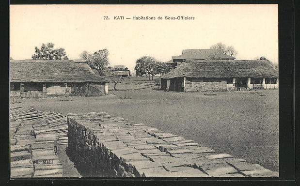 AK Kati, Habitations de Sous-Officiers