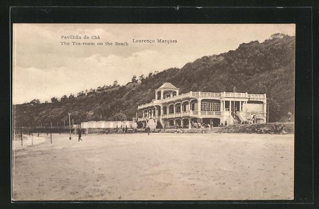 AK Lourenco Marques, The Tea-Room on the Beach