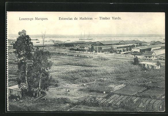 AK Lourenco Marques, Estancias de Madeiras - Timber Yards