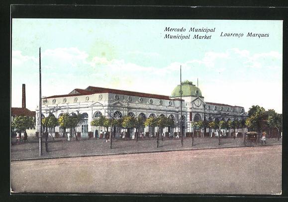 AK Lourenco Marques, Mercado Municipal, Markthalle