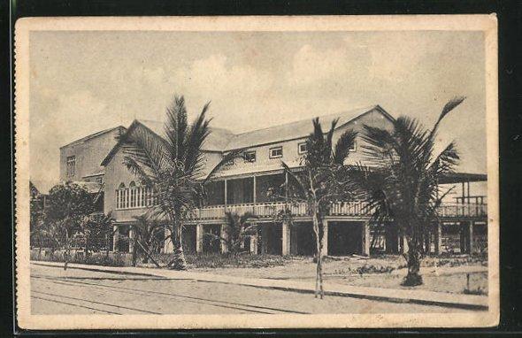 AK Beira, Hospital, Ansicht vom Krankenhaus