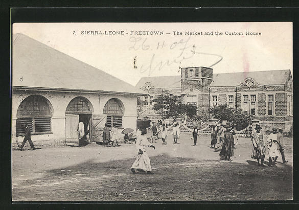 AK Freetown, The Market and the Custom House