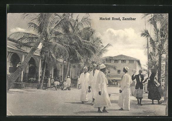AK Zanzibar, Market Road / Marktstrasse