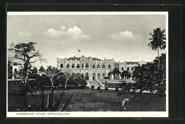 AK Dar-es-Salaam, Government House, Regierungsgebäude