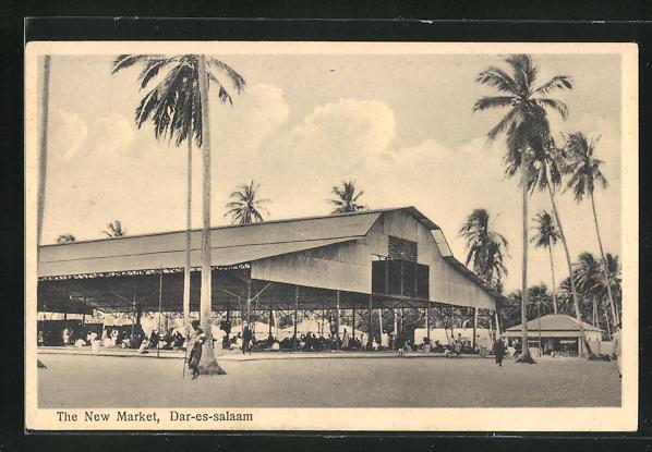 AK Dar-es-Salaam, The New Market, Neuer Markt