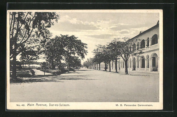 AK Dar-es-Salaam, Main Avenue, Haupt-Strasse