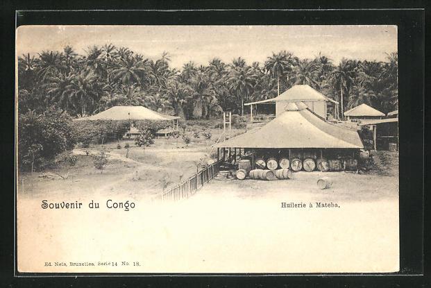 AK Mateba, Huilerie, Ansicht einer Ölmühle
