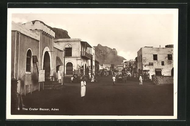 AK Aden, The Crater Bazaar