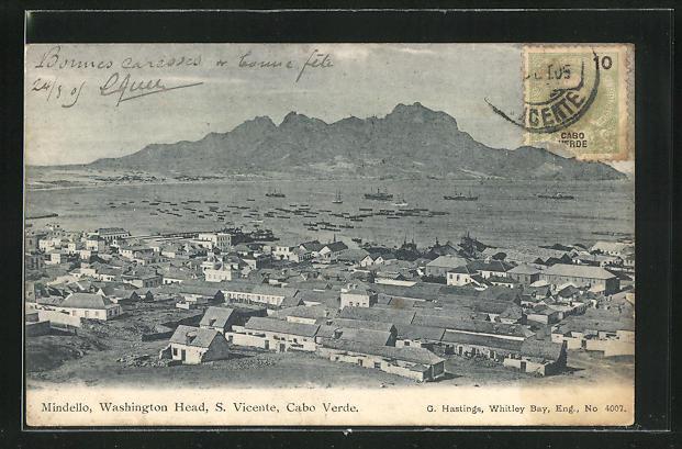 AK St. Vincent / S. Vicente, Mindello and Washington Head
