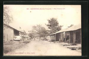 AK Kouroussa, Rue Commerciale, Strassenpartie
