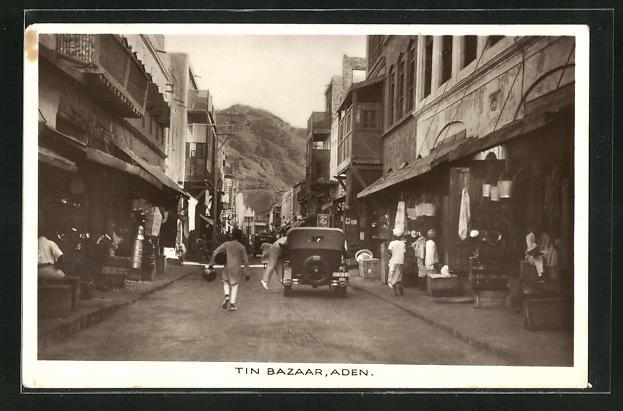 AK Aden, Tin Bazaar