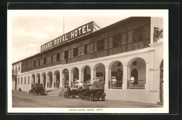 AK Aden, Grand Royal Hotel