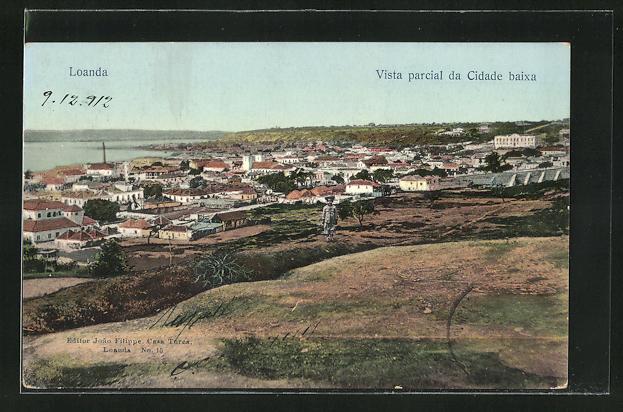 AK Loanda, Vista parcial da Cidade baixa