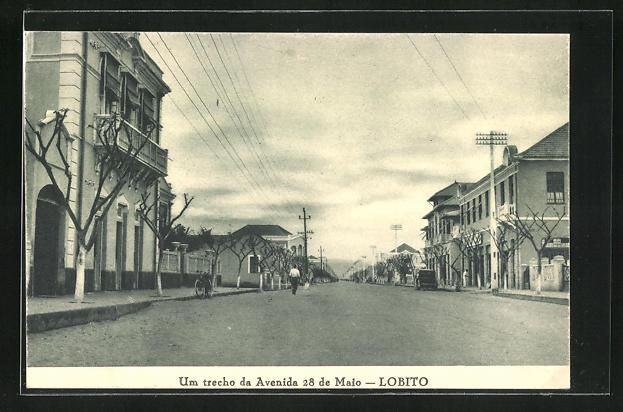AK Lobito, Um trecho da Avenida 28 de Maio