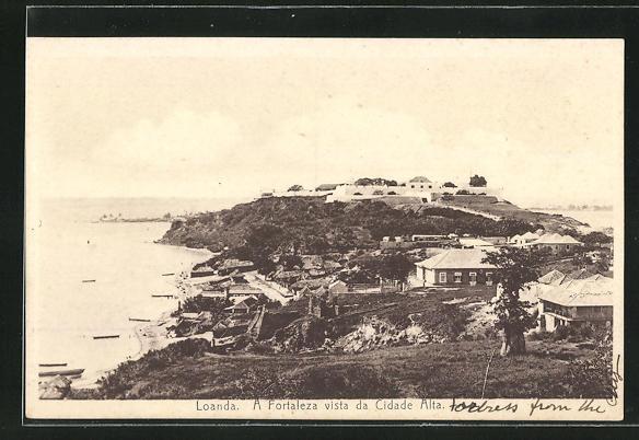 AK Loanda, A Fortaleza vista da Cidade Alta