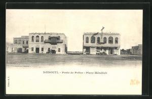 AK Djibouti, Poste de Police, Place Menelik