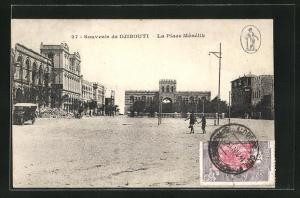 AK Djibouti, Place Menelik