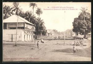 AK Conakry, Boulevard du Commerce pres de la Douane