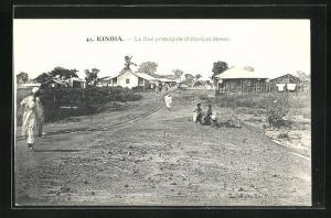 AK Kindia, La Rue principale