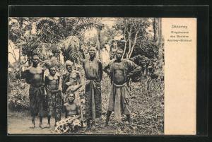 AK Abomey-Sinhoue, Eingeborene des Bezirkes