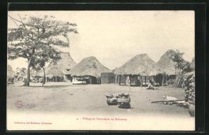 AK Dahomey, Village et Factorerie