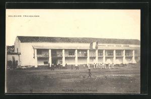AK Ouidah, Le fort francais