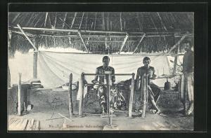 AK Dahomey, Tisserands dahomeens