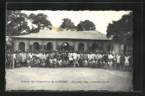 AK Porto-Novo, Congres des Cooperatives du Dahomey, 16 juillet 1954