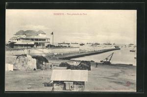 AK Djibouti, Vue generale du Port