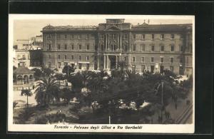 AK Taranto, Palazzo degli Uffici e Via Garibaldi