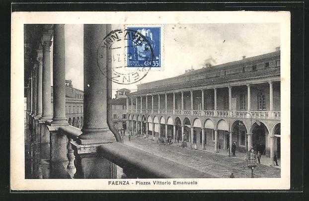 AK Faenza, Piazza Vittorio Emanuele