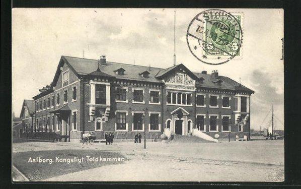 AK Aalborg, Kongeligt Toldkammer