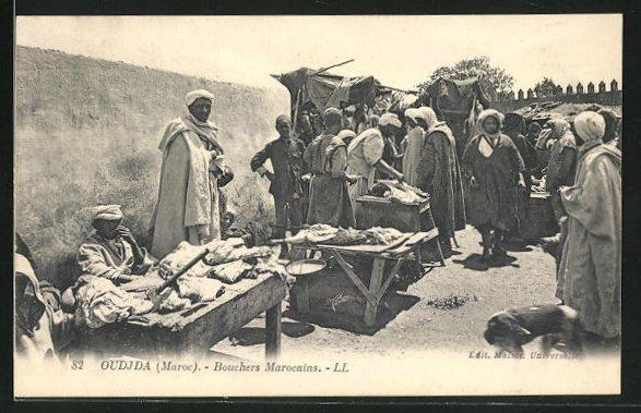 AK Oudjda, Bouchers Maroccains