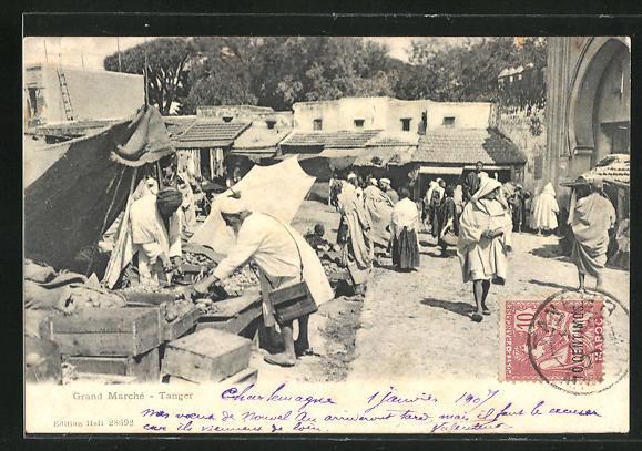 AK Tanger, Grand Marché, Grosser Markt