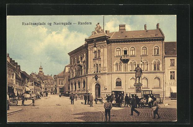 AK Randers, Raadhusplads og Norregade