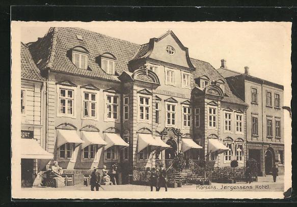 AK Horsens, Jorgensens Hotel