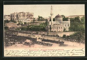 AK Constantinople, Mosquée Hamidie et le Sélamlik