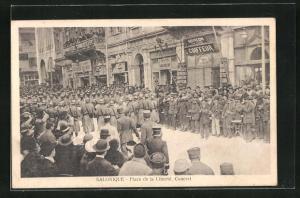 AK Salonique, Place de la Liberte, Concert